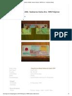 Uang Kuno 100.000,- Soekarno Hatta Thn. 1999 Polymer - Uang Kuno Malang