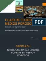 Introducción Flujo de Fluidos en Medios Porosos