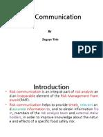 Risk Communication Zeg 30 31