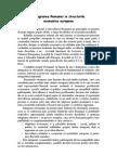 Integrarea Romaniei in structurile economice europene