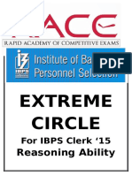 Extreme Circle Data Sufficiency
