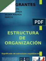 Tipos de Estructura de Organizacion