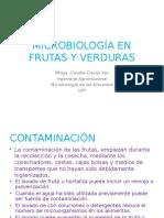 Microbiología en Frutas y Verduras