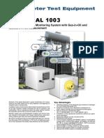 Hydrocal 1003 English