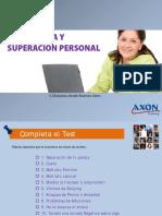 Axon Autoestima y Superacion Plan de Estudios Distancia