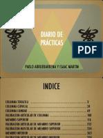 Diario de Practicas de Valoracion
