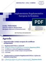 Implementarea Regulamentelor Europene in Romania