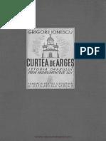Ionescu Grigore - Curtea de Arges