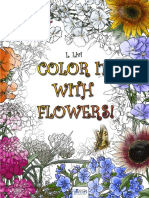 Color It With Flowers! Preview