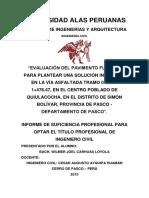 Caratula de Trab. de Suf. Profesional-Ing w Carhuas