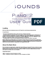 Piano 2 XS User Guide