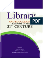 LIBRARY AND EDUCATIONAL REFORMS IN THE 21ST CENTURY Edited by Olu Olat Lawal (Editor – in – Chief) and Kwaghga Beetsh  (Associate Editor)