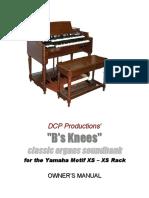 B's Knees XS Manual