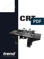 Trend CRT MK2 Router Table