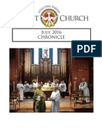 Christ Church Eureka July Chronicle 2016