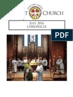 Christ Church Eureka July Chronicle 2016