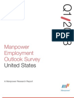 Manpower Employment Outlook Survey