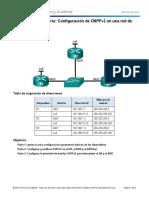 5.1.2.13 Práctica de Laboratorio - Configuración de OSPFv2 en Una Red de Accesos Múltiples