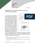 Ciberpolítica. Las Nuevas Formas de Acción y Comunicación Políticas