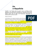 Fonetica Aleman Español
