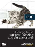 How to Build Cat Enclosures and Cat Fencing