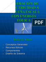 Energía Eolica Lic. Noe Rivera