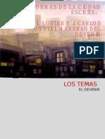 Paul Auster-Onetti Dos formas de la Ciudad Escrita