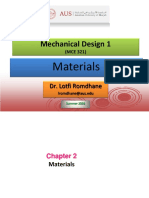 Mechanical  Materials Selection