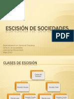 Presentación - Escisión de Sociedades