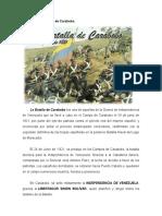 24 de Junio (Batalla...)