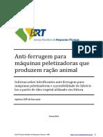 Cons 20_Anti-Ferrugem Para Máquinas Peletizadoras Que Produzem Ração Animal_RT