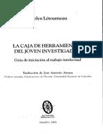 La Caja de Herramientas Del Joven Investigador LETOURNEAU
