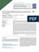 Role Digital Tomosynthesis Nodul