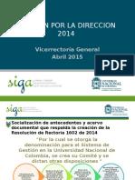 Presentacion Revision Por La Direccion Preliminar-2014
