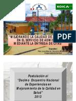 1Proyecto de Mejora CS San Juan - DIRESA Loretox