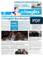 Edición Impresa Elsiglo 03-07-2016