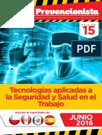 Revista El Prevencionista 15 Edición