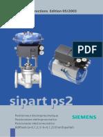 Actuadores electroneumaticos SipartPS2