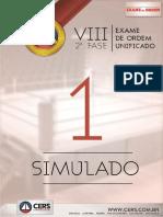 Simulado I CERS - Direito Penal