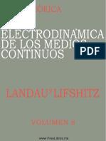 Curso de fisica teorica - Vol 8 - Electrodinamica de medios continuos.pdf