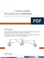 Aula - Micro-Ondas Terrestres Em Visibilidade