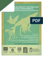 Documento Simposio Modelación Hábitat y Distribución Mamíferos 2015