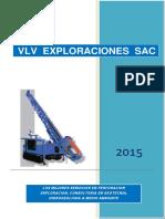 Brochure Servicios Perforación Consultoria VLV EXPLO