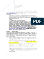 Health Policy Study Guide