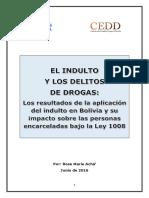 Indulto y Delitos de Drogas en Bolivia