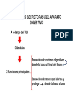 Secrecion Pancreatica y Digestion de Nutrientes