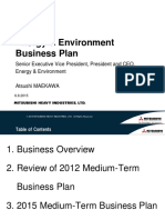 Energy and Environment Business Plan