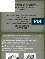 Disco Duro (Mantenimiento Preventivo) Final