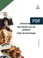 Solucionario Clase 2 Ejercitando Con Las Palabras 2016