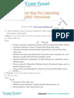Important Tips for Learning English Grammar - Exam Tyaari(6)